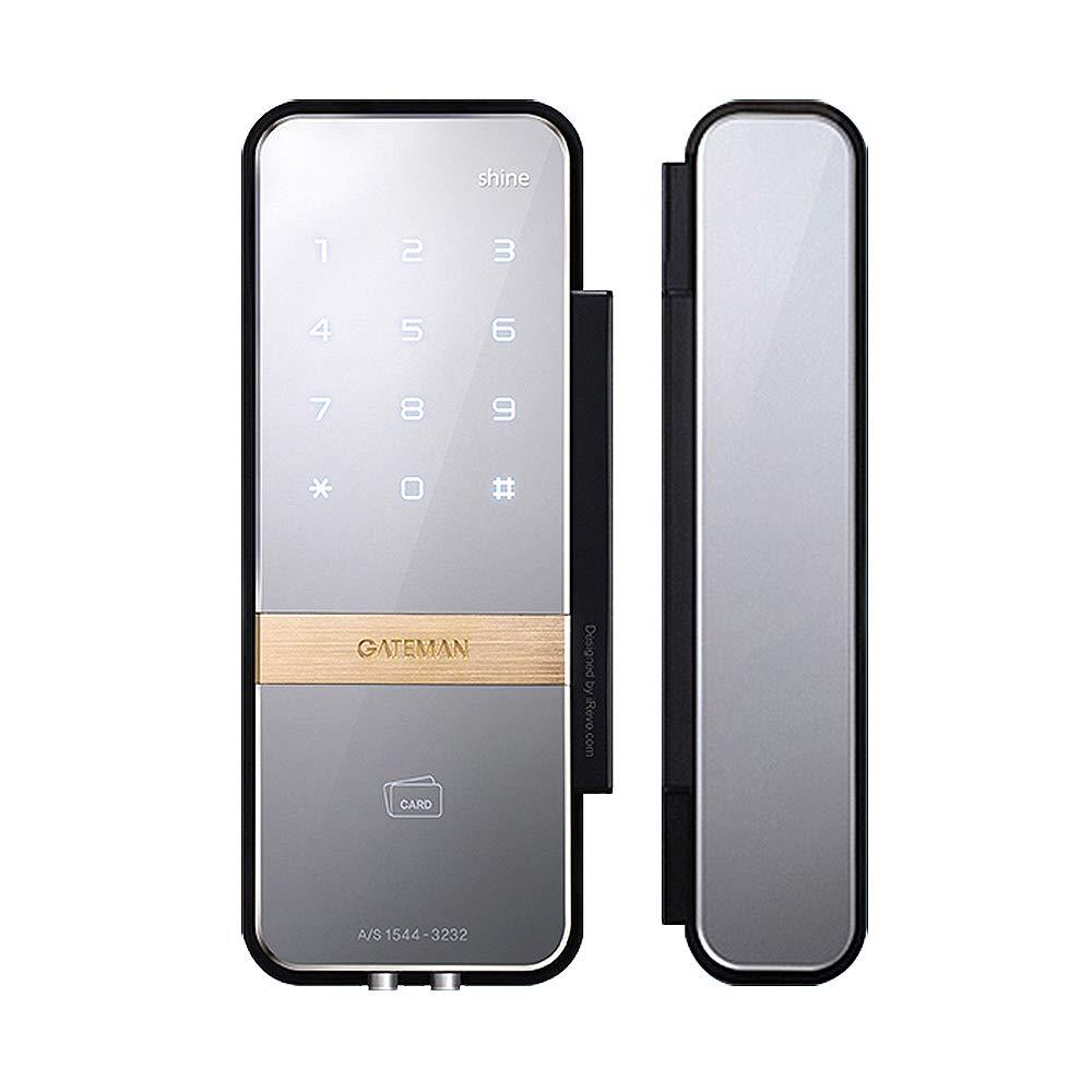 iRevo GATEMAN Shine Digital Glass Lock for Double Door by GATEMAN