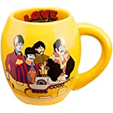 Vandor The Beatles Yellow Submarine 18 Ounce Oval Ceramic Mug (73062)