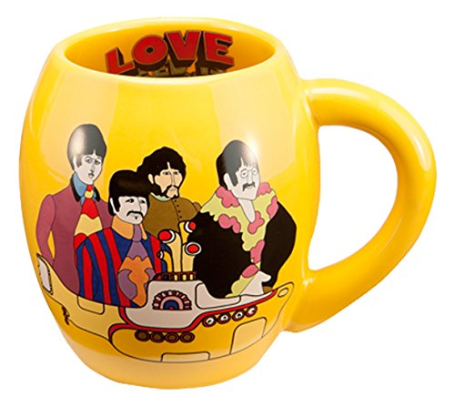 The Beatles Yellow Submarine 18 Ounce Oval Ceramic Mug