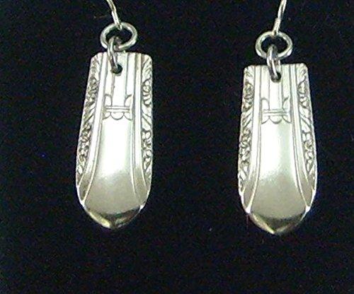 Silverware Vintage Regent Earrings Silver (Vintage Silverware Silver Jewelry Earring)