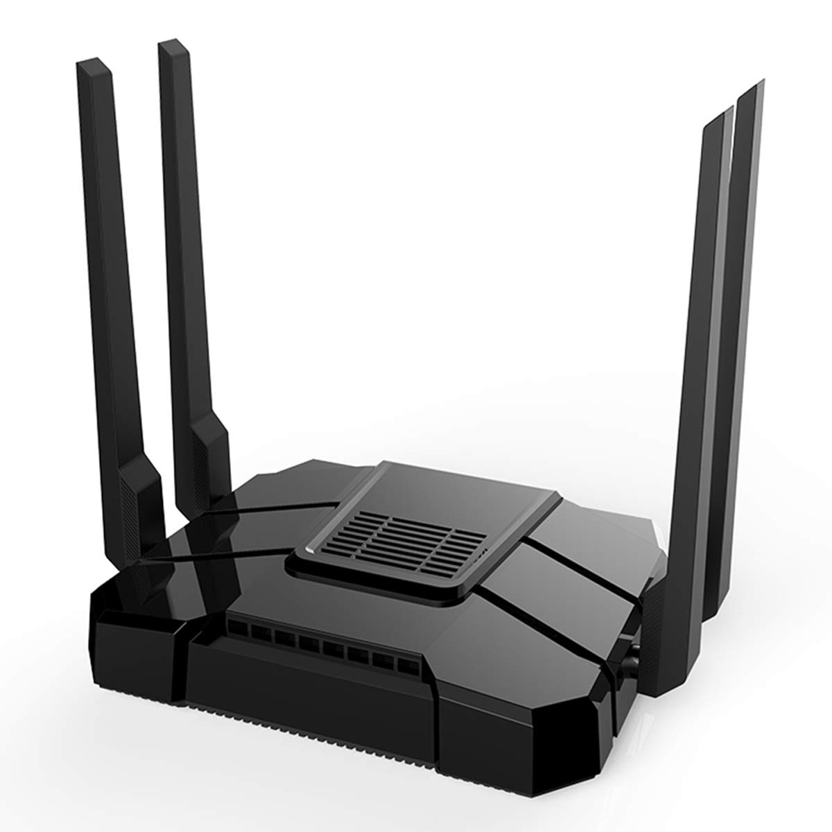 【Newest 2019】 Wireless WiFi Router Up to AC1200Mbps High Speed Home Office Router Ideal for Gaming & HD Video Streaming Works Great with Any Wireless Internet by Flow.month