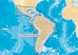 Navionics Caribbean & S. America, SD Card Nautical Chart on SD/Micro-SD Card - MSD/NAV+3XG