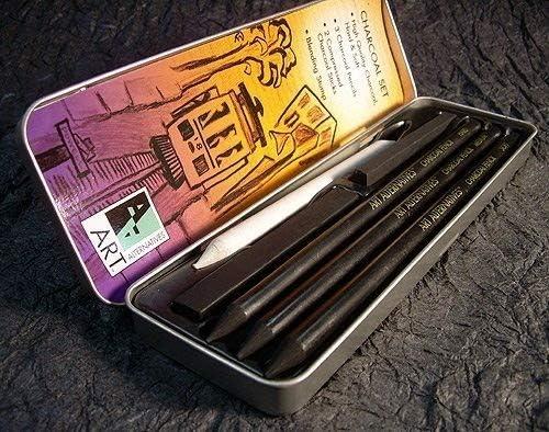 Art Alternatives Pocket Charcoal Set