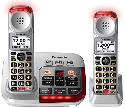 Panasonic KX-TGM450S Amplified Cordless Phone (2 Handsets)