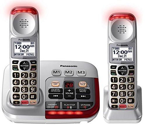 Panasonic KX-TGM450S Amplified Cordless Phone (2 Handsets)