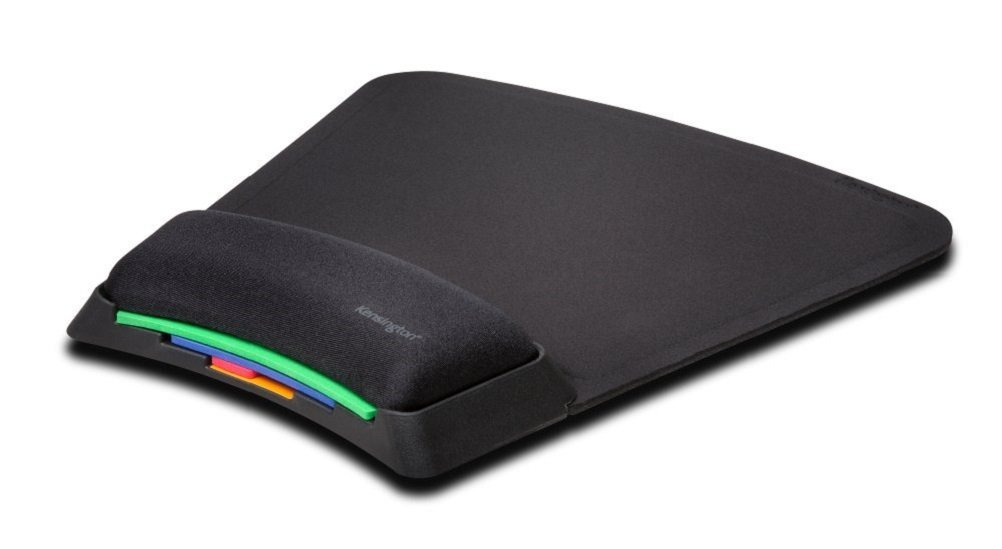 Kensington SmartFit - Alfombrilla reposamuñecas para ratón Regulable K55793EU