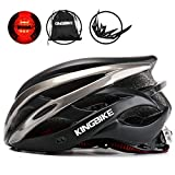 KINGBIKE Adult Bike Helmet Ultralight with Bicycle Helmets Backpack and Safety Rear Led Light Visor for Men Women Cycling Biking For Sale