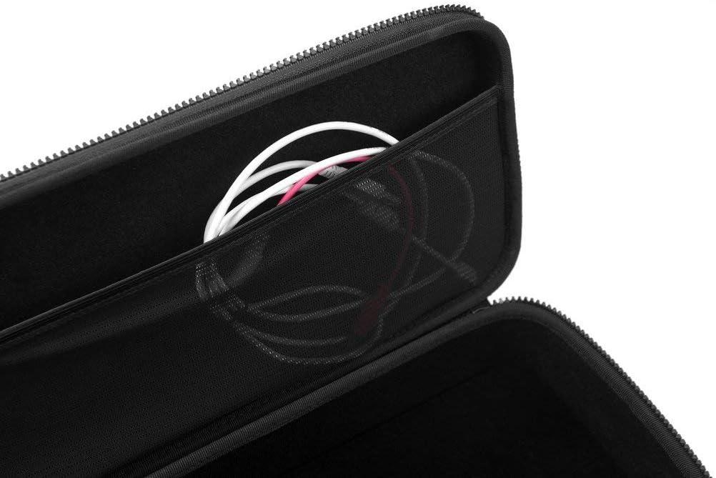 custodia per il trasporto in resistente EVA//nylon stampato, manico stampato, tasca a rete integrata Nero Analog Cases PULSE Case per Arturia KeyStep Pro o sintetizzatori simili