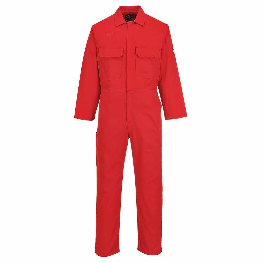 BizWeld boilersuit talla Medium color rojo Portwest BIZ1