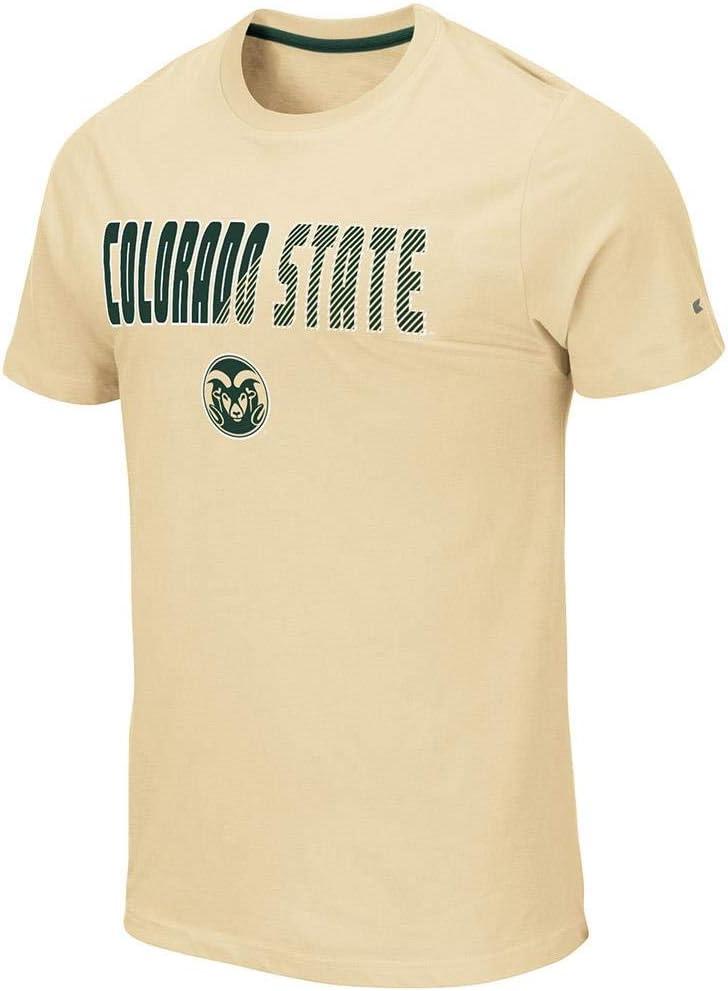 Colorado State RAMS Yona - Camiseta de Manga Corta para Hombre, S, Verde Bosque: Amazon.es: Deportes y aire libre