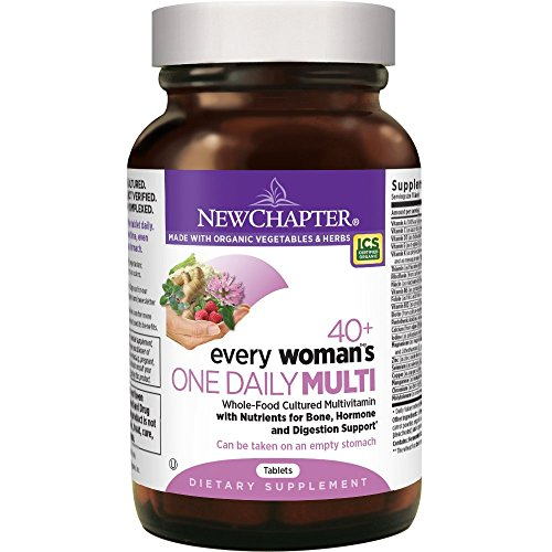 New Chapter Every Woman's One Daily 40+, Women's - Women Organic Vitamins