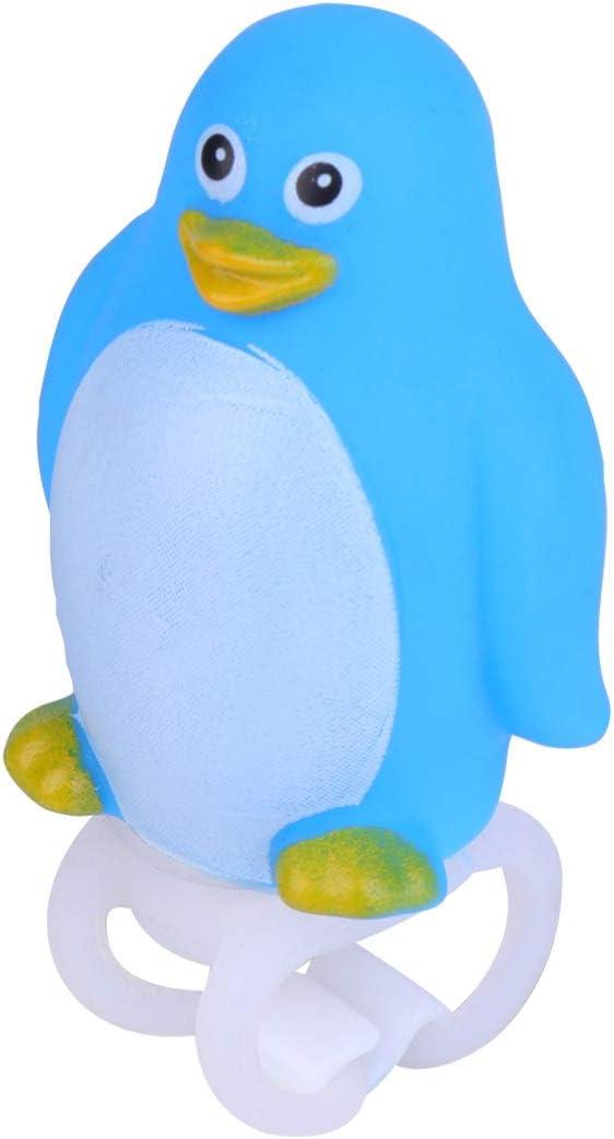 Simulation Animal Penguin Lamp Bike Accessory Handlebar Mounted Lamp with Button