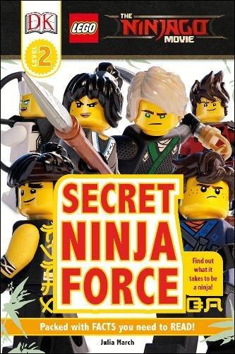 DK Reader LEGO® NINJAGO® MOVIE™ Secret Ninja Force [Level 2]