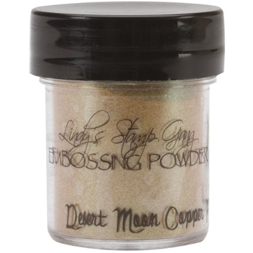 Lindy's Stamp Gang 2-Tone Embossing Powder, 0.5-Ounce Jar, Desert Moon Copper Pine