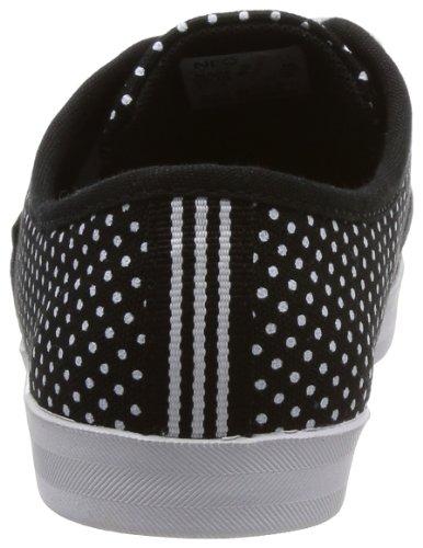 Vlneo Da Lo Polka Scarpe Nero Ginnastica 5 F39285 Bianco Dots Neo Casual Donna Adidas 6 dqf8Ud