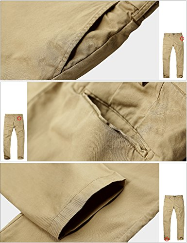 Match Men's Stretch Casual Pants