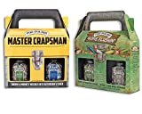 10:21 Gifts, Keepsakes, and Bundles Poo-Pourri Mens Gift Set Bundle - Master Crapsman Tool Box Gone Flushin Tackle Box - Includes (4) 2 oz Bottles