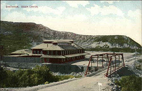 sanitarium-ogden-canyon-ogden-utah-original-vintage-postcard