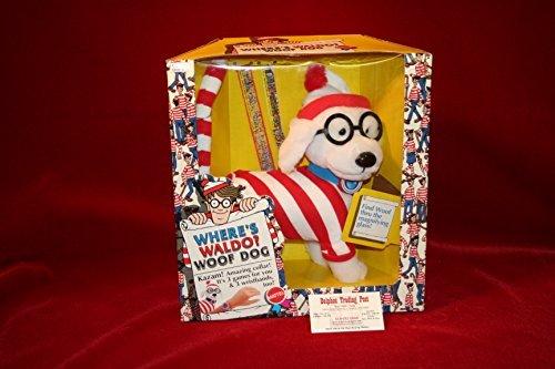 (Where's Waldo WOOF DOG DOLL PLUSH w/Magnifying)