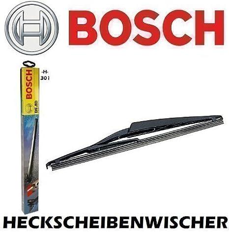 Bosch H301 Heck 300 Heckscheibenwischer Heckwischer Scheibenwischer Wischerblatt Wischblatt Flachbalkenwischer Scheibenwischerblatt 2mmservice Auto