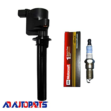 Mazda ADP Ignition Coil For Ford New OEM Platinum Spark Plug and Mercury DG513 DG500 FD502
