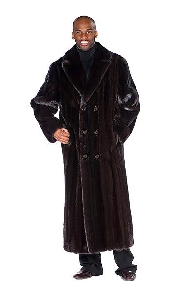 Amazon.com: Madison Avenue Mall Mens Ranch de pelo Coat ...