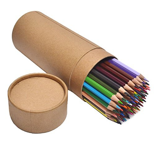 CYPER TOP 80-color Colored Pencils Set For Adults And Kids/Vibrant Colors,Drawing Pencils for Sketch, Arts, Coloring Books (Cylinder) by CYPER TOP (Image #3)