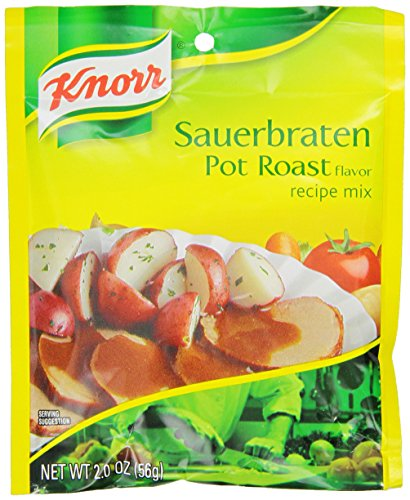 Knorr Entree Mixes-Pot Roast (Sauerbraten) Recipe Mix, 2-Ounce Packet (Pack of 12) (Pot Roast With compare prices)