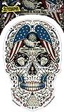 Skygraphx - Free For The Dead Patriotic Sugar Skull - Sticker / Decal