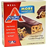 Atkins, Protein Rich Meal Bar, Chocolate Chip