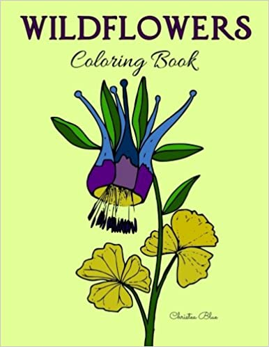 Amazon.com: Wildflowers Coloring Book: (Adult Coloring ...