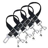 Dog Seatbelt - Adjustable Durable Nylon Car Vehicle Safety Pet Seat Belt ...