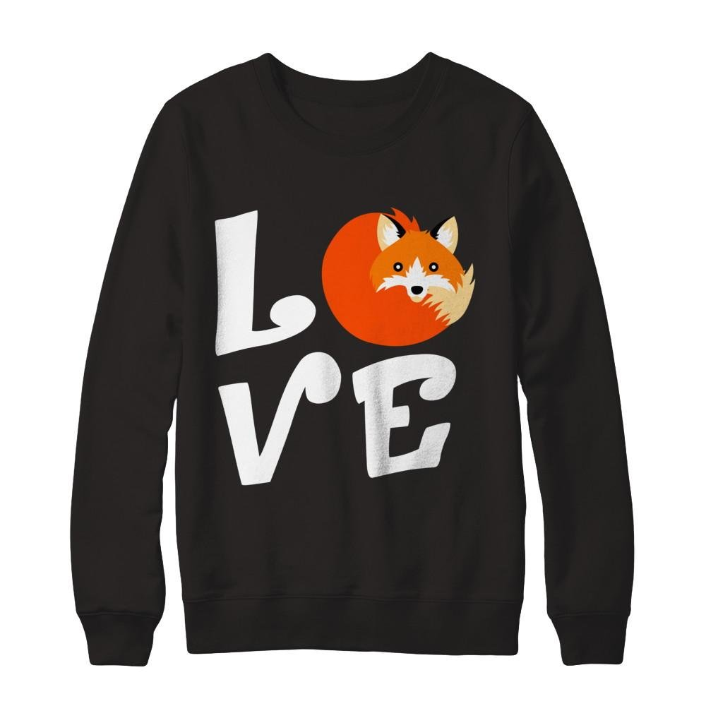 Teely Shop Mens Womans Love Vulpes Lagopus Animal Lover Gildan Pullover Sweatshirt