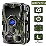 Cheap Goujxcy Trail Camera Game & Hunting Deer Cameras with Night Vision Motion Activated for Wildlife 16MP/1080P/80ft/IP65 Waterproof for Outdoor Nature and Home Security