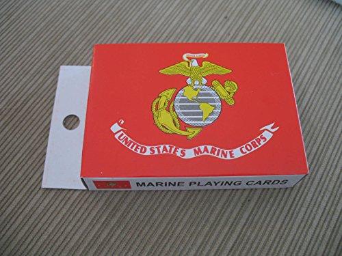 미국 USMC 해병대 해병대 카드 놀이 (54 카드)/US USMC Marin..