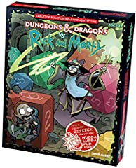 Play D&D through the lenses of the mad narcissistic genius, Rick Sanchez, from the animated Cartoon Network series, Rick and Morty—the Rick Way! This tabletop roleplaying game boxed set blends the world of Dungeons & Dragons with mad ...