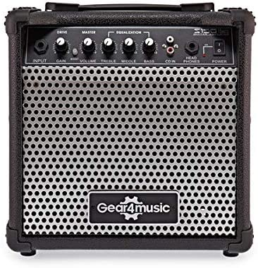 Amplificador de Guitarra Electrica de 15 W de Gear4music: Amazon ...