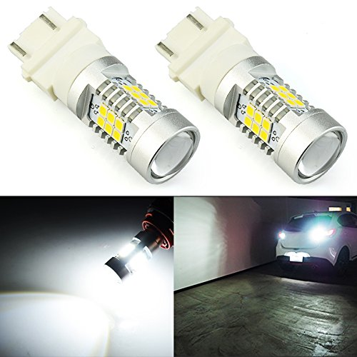 JDM ASTAR 2520 Lumens Extremely Bright PX Chips 3157 4057 4157 3156 LED Bulbs,Xenon White