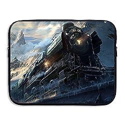 Train Briefcase Handbag Case Cover For 13-15 Inch Laptop, Notebook, MacBook Air/Pro