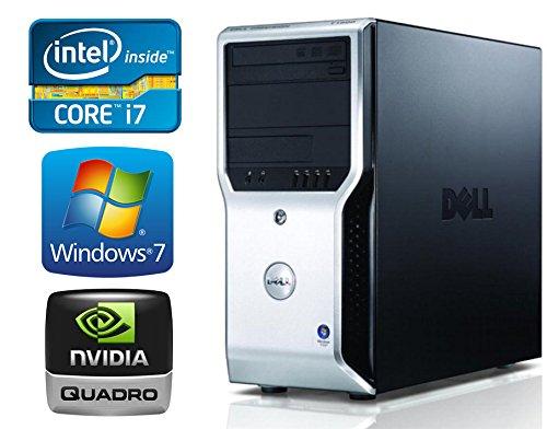 Workstation Desktop Pc (Dell Precision T1500 Workstation Desktop Computer - Intel Core i7 2.93GHz - *NEW* 1TB HD - 16GB RAM DDR3 - WiFi - Windows 7 Pro 64 with Windows 10 upgrade Option (Certified Refurbished))