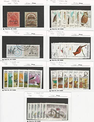 (Hungary, Postage Stamp, 535//2969 Used, 1938-1985, JFZ )