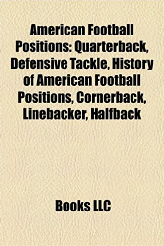 Amazon In Buy American Football Positions Book Online At
