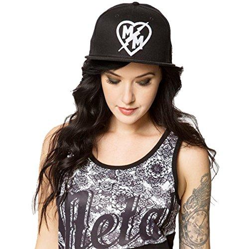 Metal Mulisha Womens Chain Adjustable Hat One Size Jet Black (Metal Mulisha Women Hats)