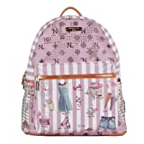 Nicole Lee Quinn 20 Inch Backpack, Doll House, One Size