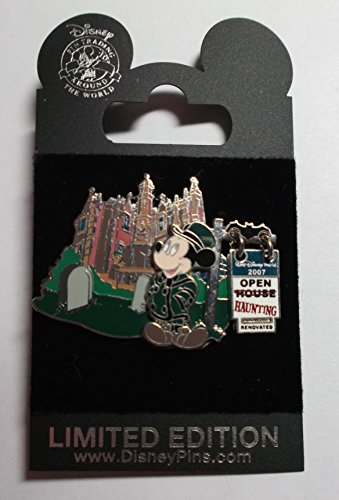 WDW The Re-haunting 2007 Pin. Haunted Mansion Pin, LE 1000, Pin Pic # 56564