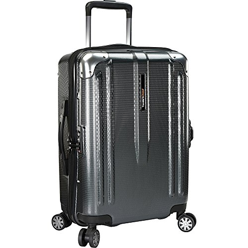 travelers-choice-new-london-22-100-polycarbonate-trunk-spinner-gray