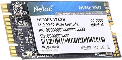 Netac N930ES NVMe M.2 2242 SSD Disco Duro 512GB 256G 128GB Gen3 ...