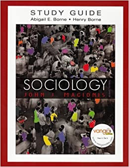 Book Study Guide for Sociology by John J. Macionis (2008-01-06)