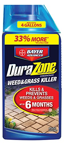 Bayer Grass Weed Killer (DuraZone Weed & Grass Killer Concentrate, 32-Ounce)
