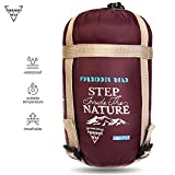 Kyпить Forbidden Road 380T Nylon Portable Sleeping Bag Single 15 ℃/ 60 ℉(5 Colors) Lightweight Waterproof Envelope for Man Woman 3 Seasons Camping, Hiking, Backpacking - Free Compression Bag Included на Amazon.com